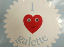 I love galette, sticker fini